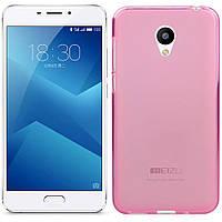 Чехлы U-Like Чехол силиконовый для Meizu M5 Note Pink (13366)