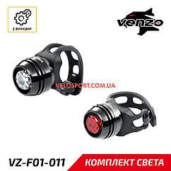 Комплект света VENZO L-2 черный