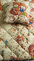 Одеяло и подушка детские поликаттон теплое - Ковдра і подушка дитячі поликаттон тепла