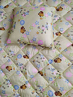 Одеяло и подушка детские  поликаттон - Ковдра і подушка дитячі поликаттон