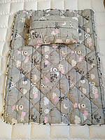 Подушка одеялко хлопковые - Подушка ковдра бавовняні дитячі