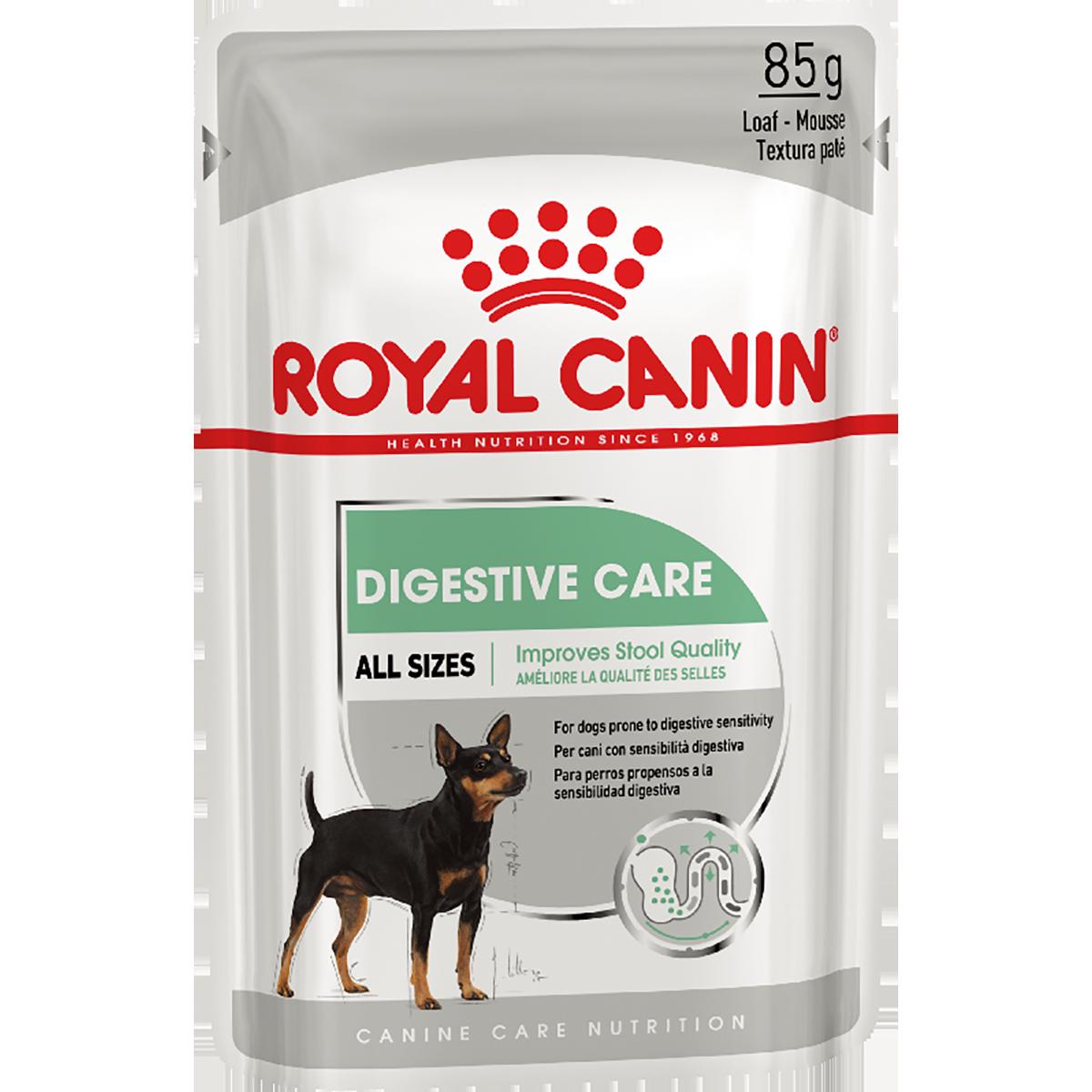 Консервированный корм для собак ROYAL CANIN DIGESTIVE CARE паштет, 12шт*85 г
