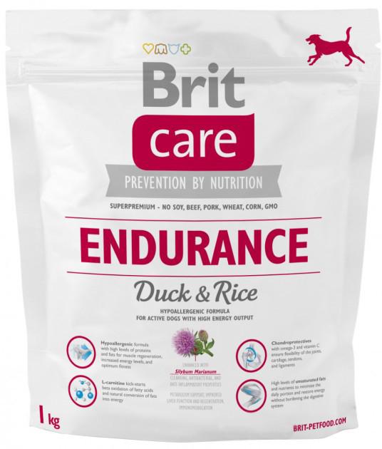 Корм для собак Brit Care Endurance 1кг