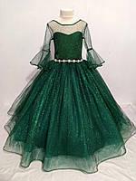 """Сверкающее бальное платье в пол для девочки """"Каролина"""", фото 1"""