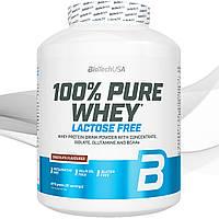 Сывороточный протеин BioTech USA 100% Pure Whey Lactose Free 2270 gr