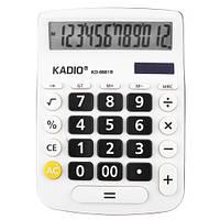 Калькулятор настольный Kadio KD-8881B-12-ти разрядный, 1хАА, 18,5см