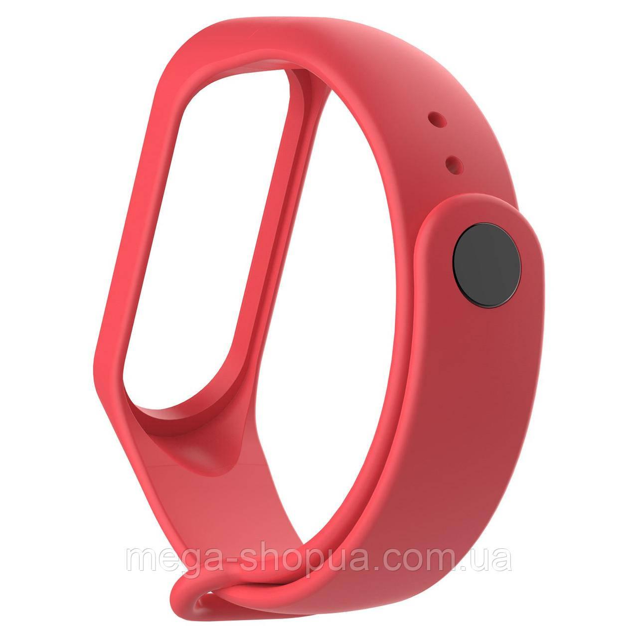 Ремешок для фитнес-браслета Xiaomi Mi Band M3 Red. Smart Bracelet - Клипса зарядка