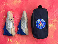 Сумка Спортивная для обуви FC PSG Синяя