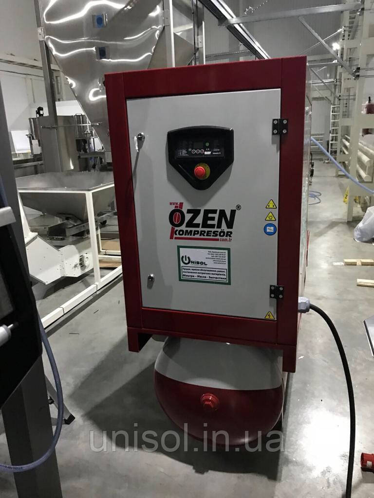Компрессор винтовой Ozen OSC 15 - 1830 л/мин - 11 кВт.