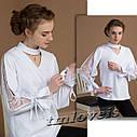 Школьная подростковая Рубашка Лизи2 TM LOVEIS . Размеры 140- 170, фото 3