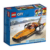 Конструктор LEGO Sity Победитель гонки 60178 Speed Record Car (78 деталей)