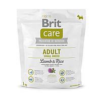 Корм для собак Brit Care Adult Small Breed Lamb&Rice 1кг