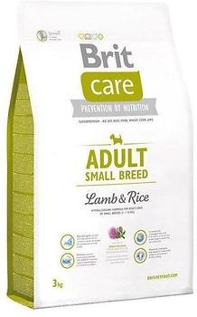 Корм для собак Brit Care Adult Small Breed Lamb&Rice 3кг