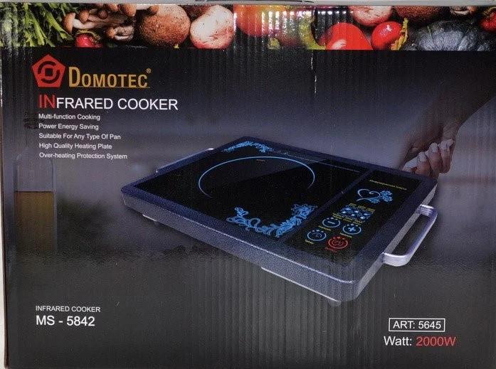 Электроплита инфракрасная DOMOTEC MS5842, 2000 Вт