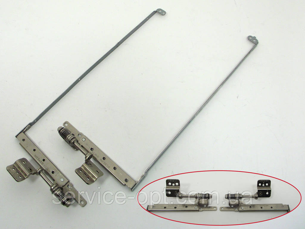 Петли для ноутбука Toshiba Satellite L500, L500D (AM073000600 AM073000500). Левая + правая: