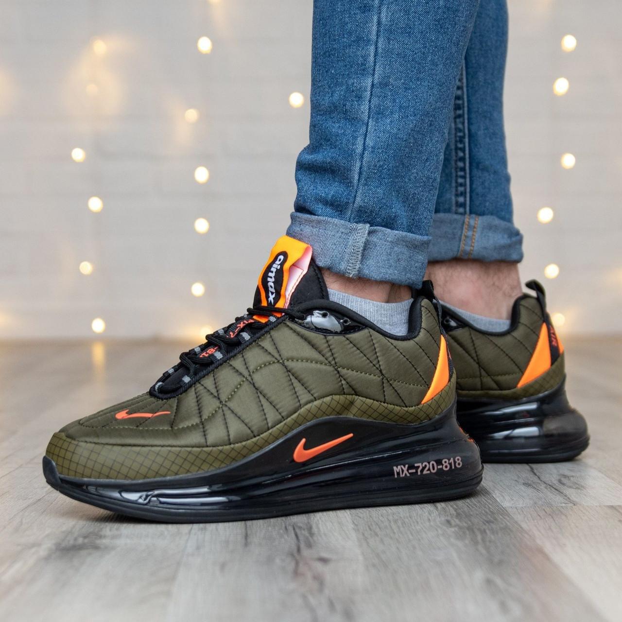 Мужские кроссовки в стиле Nike Air Max 720-818 Olive (41, 42, 43, 44, 45 размеры)