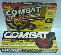 Комплект для дезинсекции Комбат/Combat (6 дисков-ловушек + Шприц-гель 30 гр.)