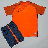 Футбольная форма игровая Nike оранжевая