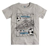 Футболка Cool Club 1178 164  серый