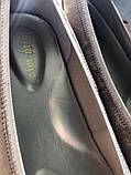 Туфли - балетки на маленьком каблучке на широкую ногу бренд davide tate, фото 9
