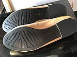 Туфли - балетки на маленьком каблучке на широкую ногу бренд davide tate, фото 8