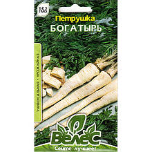"Семена петрушки вкусной ""Богатырь"" (3 г) от ТМ ""Велес"""