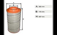 Фильтр воздушный системы питания двигателя CR0067-SF