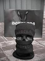 Шапка и бафф Doberman D9145 черные