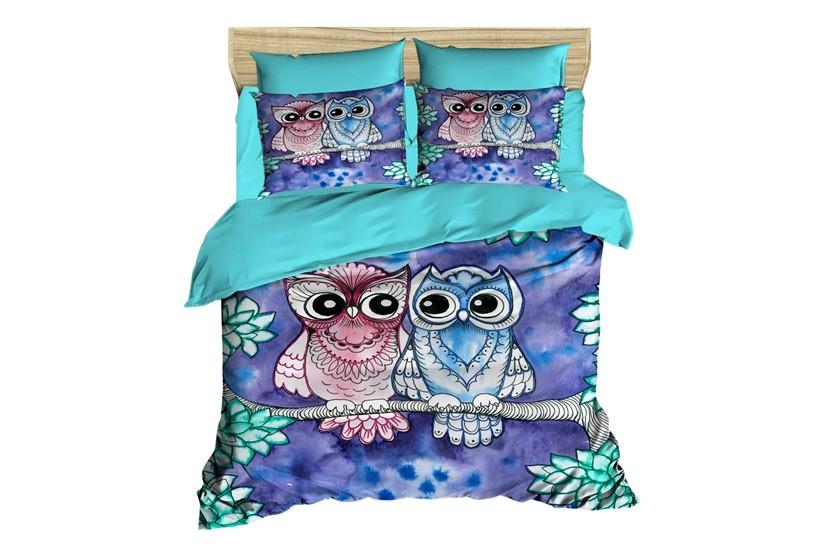 Постельное белье 2-спальное евро LIGHTHOUSE Night Owls