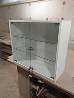 Навесной шкаф витрина со стеклом V533