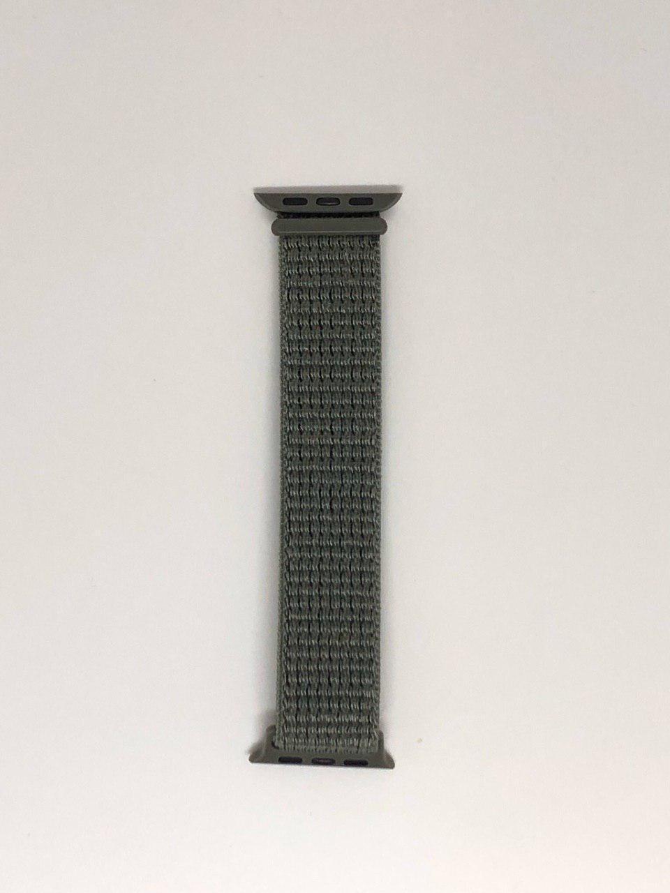 """Нейлоновий ремінець """"Бузковий туман №37"""" для Apple watch 38/40 mm"""