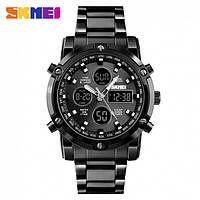 Skmei 1389 molot  черные мужские спортивные часы
