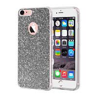 Чехлы Remax Чехол Remax Glitter Silicone Case для iPhone 6 Черный (16374)