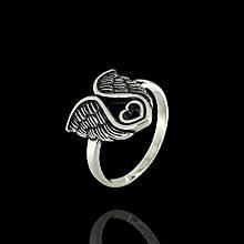 Серебряное кольцо Крылья