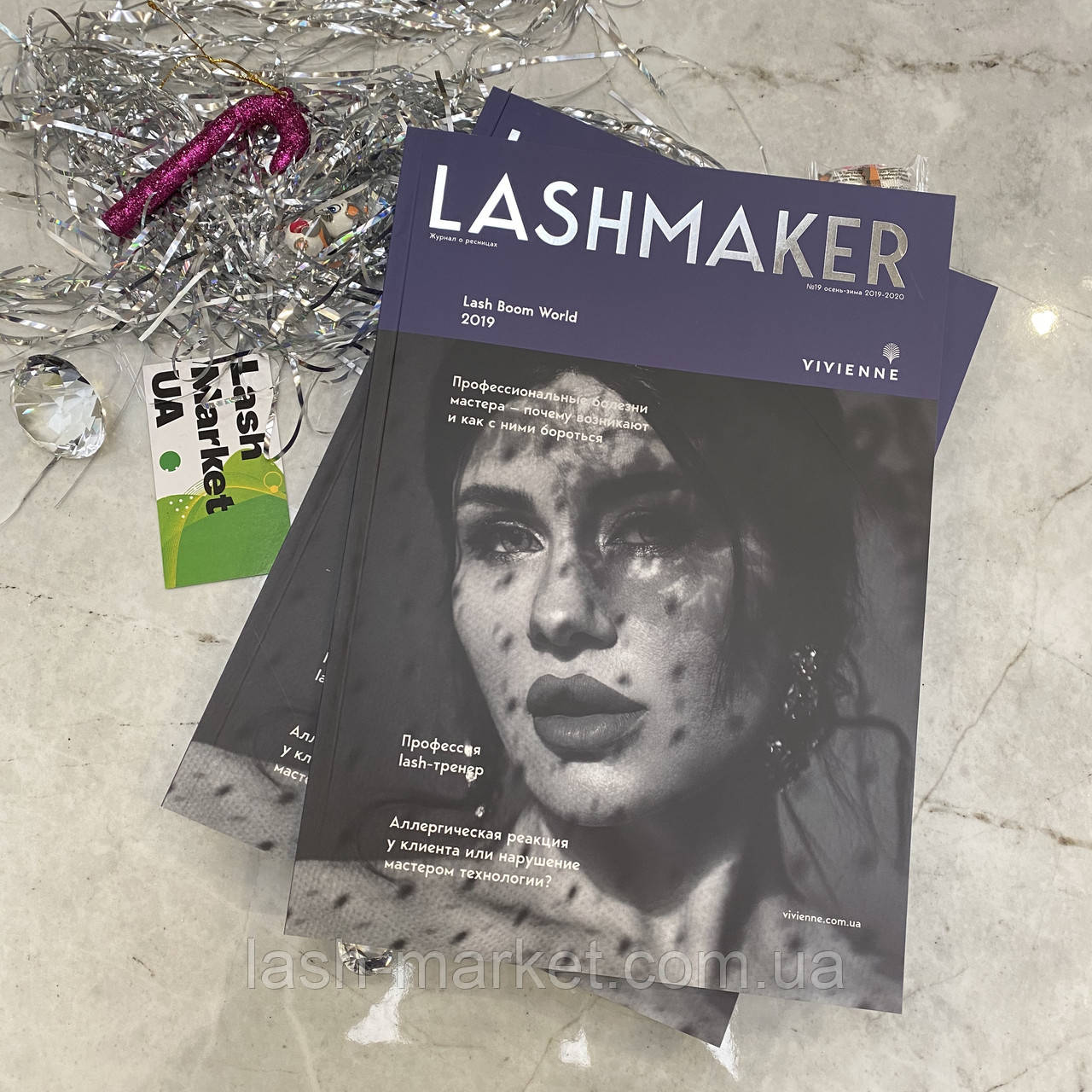 Журнал Lashmaker №19 для майстрів нарощування вій 2020