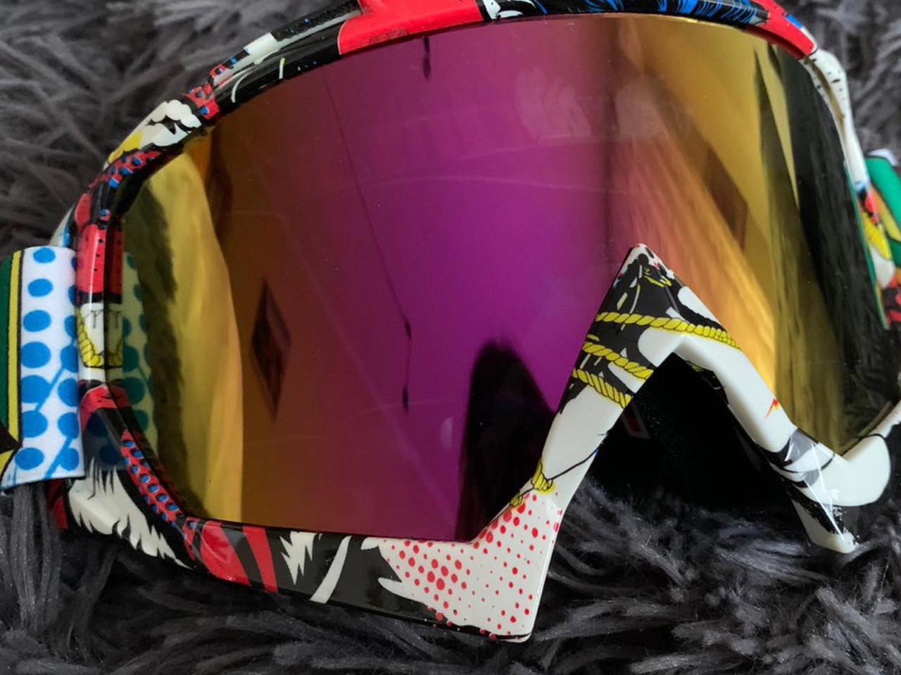 Сноуборд Маска очки под шлем кроссовая