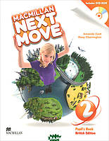 Amanda Cant, Mary Charrington Macmillan Next Move 2: Pupil`s Book (+ DVD-ROM)