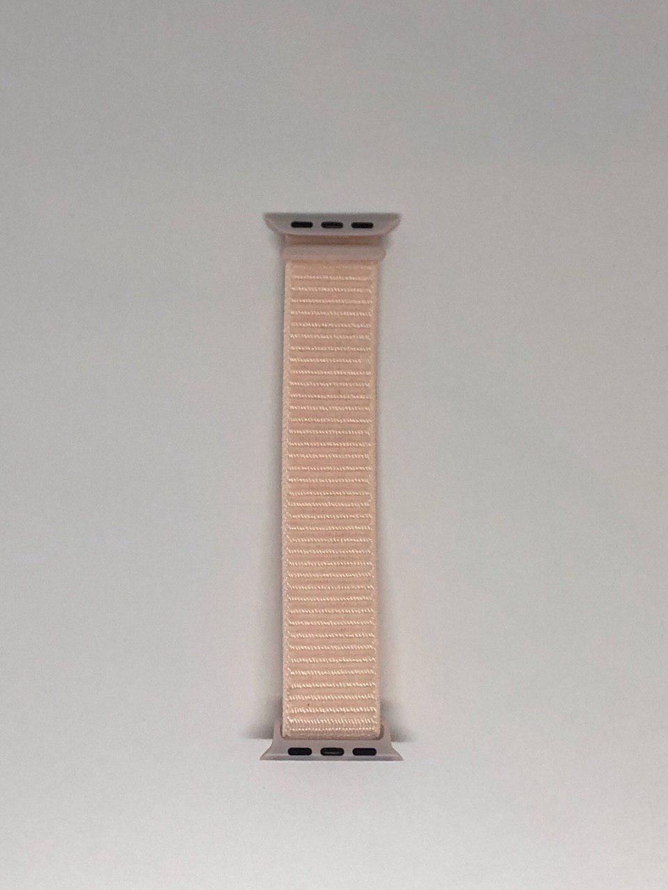 """Нейлоновий ремінець """"Рожевий перли №18"""" для Apple watch 38/40 mm"""