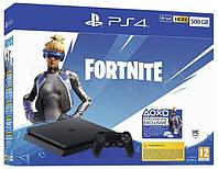 Игровая приставка Sony PlayStation 4 Slim 500GB + Fortnite консоль