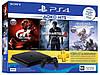 Игровая приставка Sony PlayStation 4 Slim 1TB + Gran Turismo Sport + Uncharted 4 + Horizon Zero Dawn консоль
