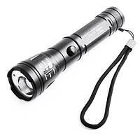 Ліхтар ручний/підствольний BL-Q9840, з дюралюмінію, дуже яскравий, з далекобійним променем, лазерний покажчик, фото 1