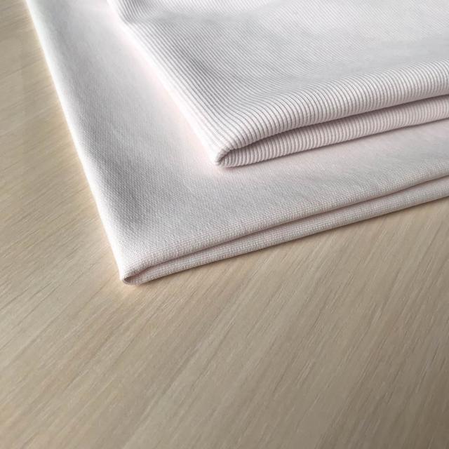 трикотажная ткань кашкорсе светлая пудра, купить в нашем магазине