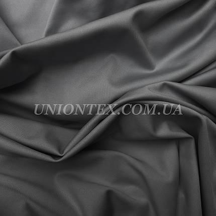 Трикотаж микродайвинг темно-серый, фото 2