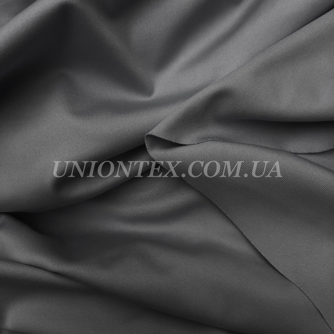 Трикотаж микродайвинг темно-серый
