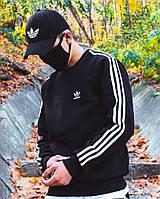 Теплый свитшот Adidas Badge черный