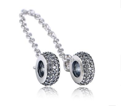 Серебряная защитная цепочка Pandora Осень