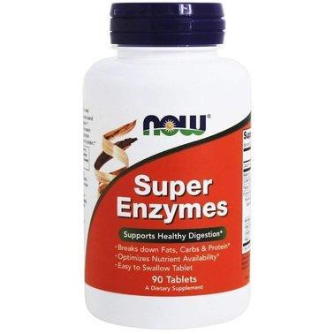 Комплекс энзимов Now Foods - Super Enzymes (90 капсул)