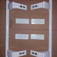 Набор ручек для холодильника Liebherr Либхер 9086742 с заглушками ручек Аналог, фото 1