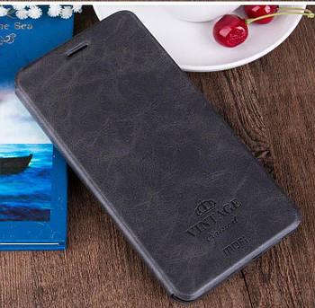 Чехол книжка Mofi Vintage для Xiaomi Redmi 8 Черный