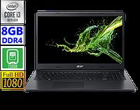 Ноутбук Acer Aspire 3 i3-10110U / 8GB RAM / 256 SSD [A315-54 || NX.HM2EP.006]